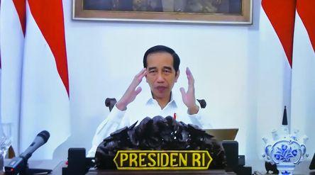 Presiden Jokowi. (Foto: Setneg/Ibrahim).\n