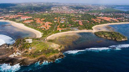 Kawasan Indonesia Tourism Development Corporation (ITDC) di Mandalika, Lombok, NTB. / Itdc.co.id\n