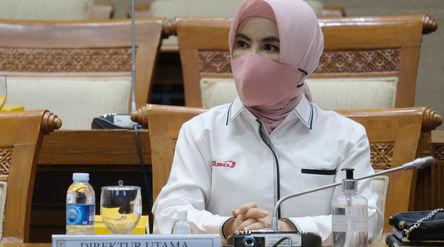 Direktur Utama PT Pertamina (Persero) Nicke Widyawati . Foto: Ismail Pohan/TrenAsia\n