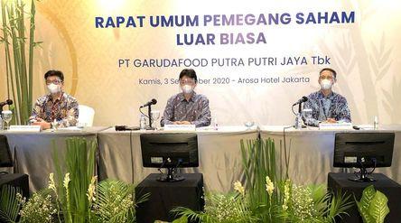 Manajemen emiten milik konglomerat Sudhamek Agoeng Waspodo Soenjoto, PT Garudafood Putra Putri Jaya ...