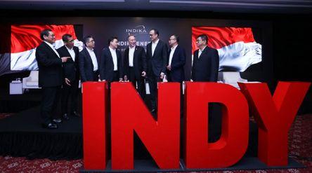 Emiten pertambangan batu bara milik konglomerat Sudwikatmono PT Indika Energy Tbk (INDY) saat RUPST ...