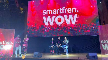 Emiten telekomunikasi milik Grup Sinar Mas PT Smartfren Telecom Tbk (FREN) / Smartfren.com\n