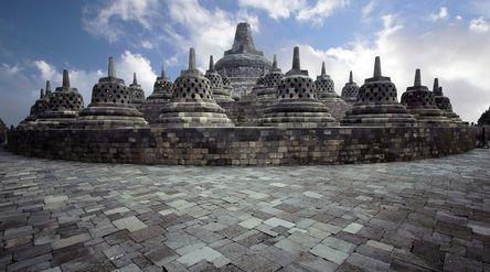 Candi Borobudur di Magelang, Jawa Tengah / Pixabay\n