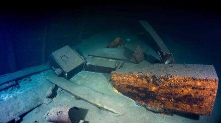 Bangkai kapal Nazi yang ditemukan/Foto: Live Science\n