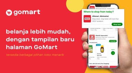 Gojek melalui fitur GoMart kini menghadirkan mitra Alfamidi untuk melayani kebutuhan belanja pelangg...
