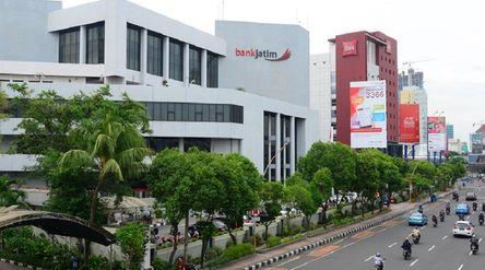 Ilustrasi Gedung PT Bank Pembangunan Daerah Jawa Timur Tbk (BJTM) atau Bank Jatim / Dok. Bank Jatim\n