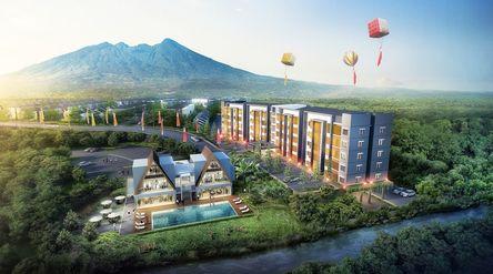Apartemen Royal Heights di kawasan Royal Tajur Bogor, Jawa Barat. / Dok. Perseroan\n