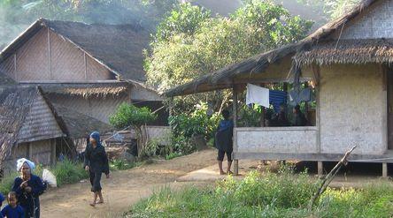 Perkambungan Suku Baduy Luar di Lebak, Banten / Istimewa\n