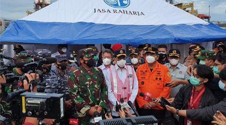 Jasa Raharja sudah memberikan santunan kepada keluarga korban jatuhnya pesawat Sriwijaya Air SJ-182 ...