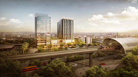 LRT City mengusung konsep Transit Oriented Development (TOD) dari PT Adhi Commuter Properti / LRTCit...
