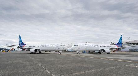 Pesawat Sriwijaya Air buatan Boeing / Boeing.com\n