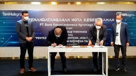 BRI Agro menandatangani Nota Kesepahaman dengan salah satu perusahaan agritech yaitu TaniHub Group. ...