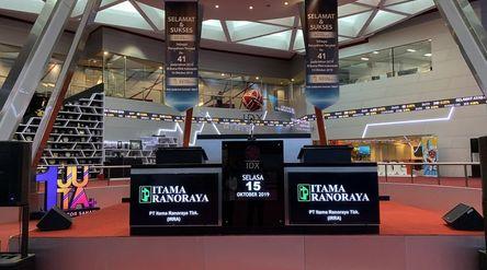 Emiten farmasi dan alat kesehatan PT Itama Ranoraya Tbk (IRRA) saat IPO di Bursa Efek Indonesia / Do...