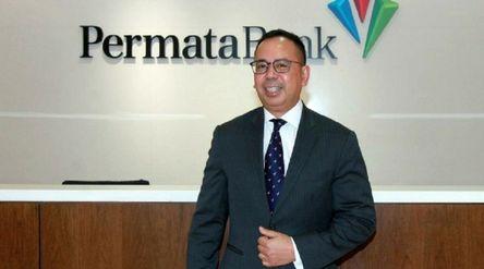 Direktur Utama PT Bank Permata Tbk (BNLI) Ridha D.M. Wirakusumah yang kini ditunjuk sebagai CEO Lemb...