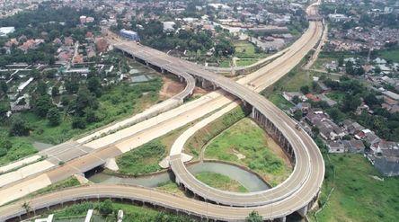 Jalan Tol Cinere-Serpong dari PT Jasa Marga (Persero) Tbk siap beroperasi / Dok. Jasa Marga\n