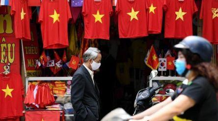 Ilustrasi Kegaitan Ekonomi di Vietnam di masa Pandemi COVID-19. /AFP\n