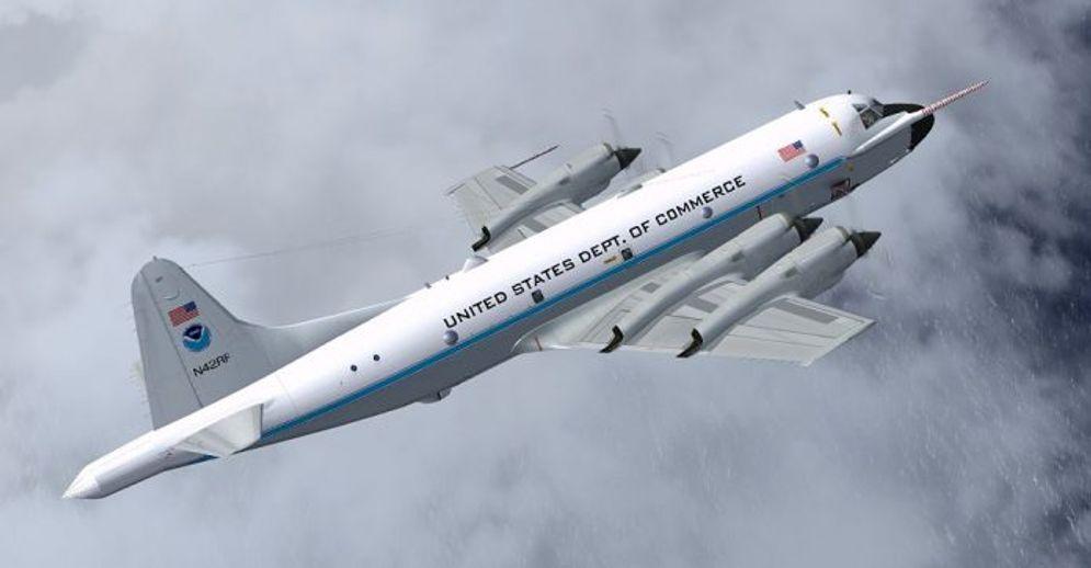 Pesawat pemburu badai WP-3D \n
