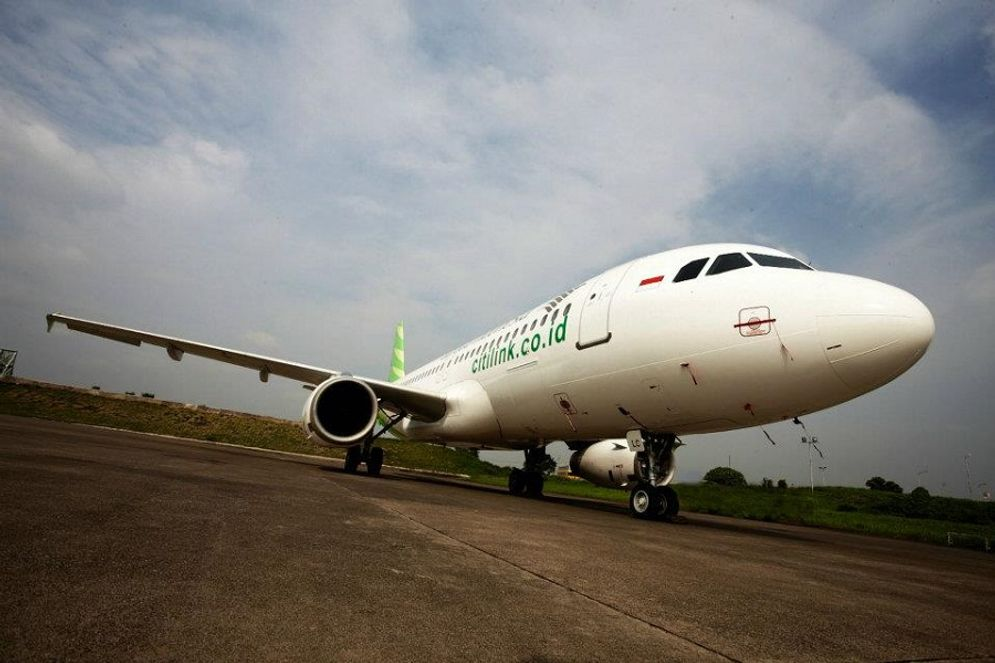 Maskapai penerbangan Citilink Indonesia. / Facebook @citilink\n
