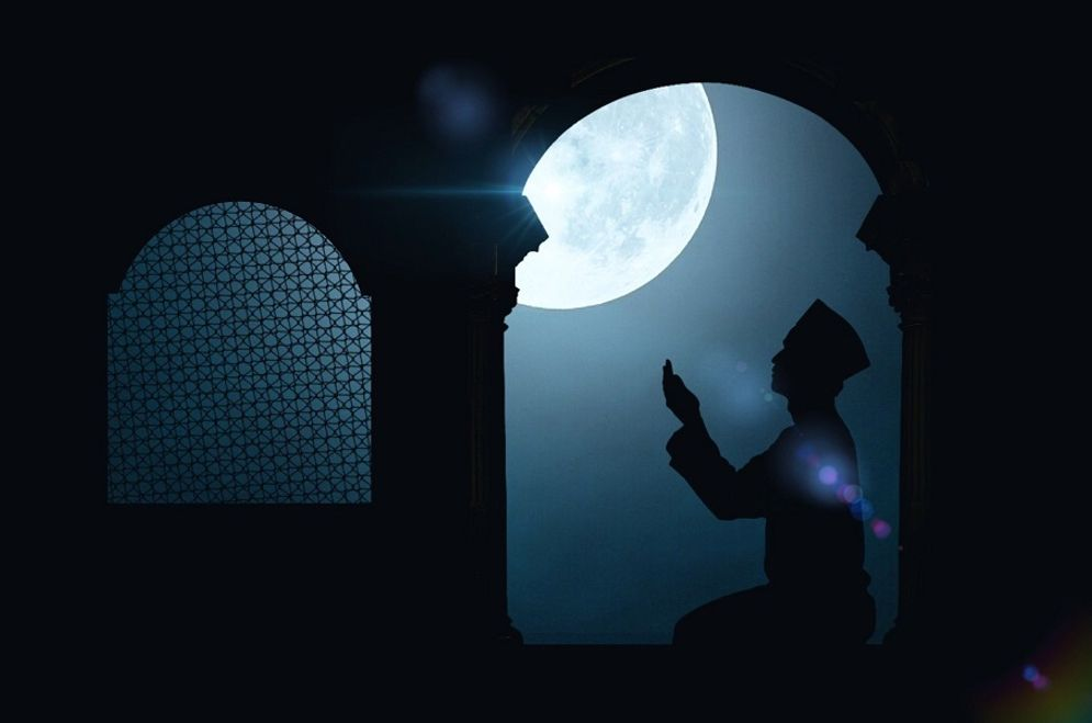 Ilustrasi bulan Ramadan. / Pixabay\n