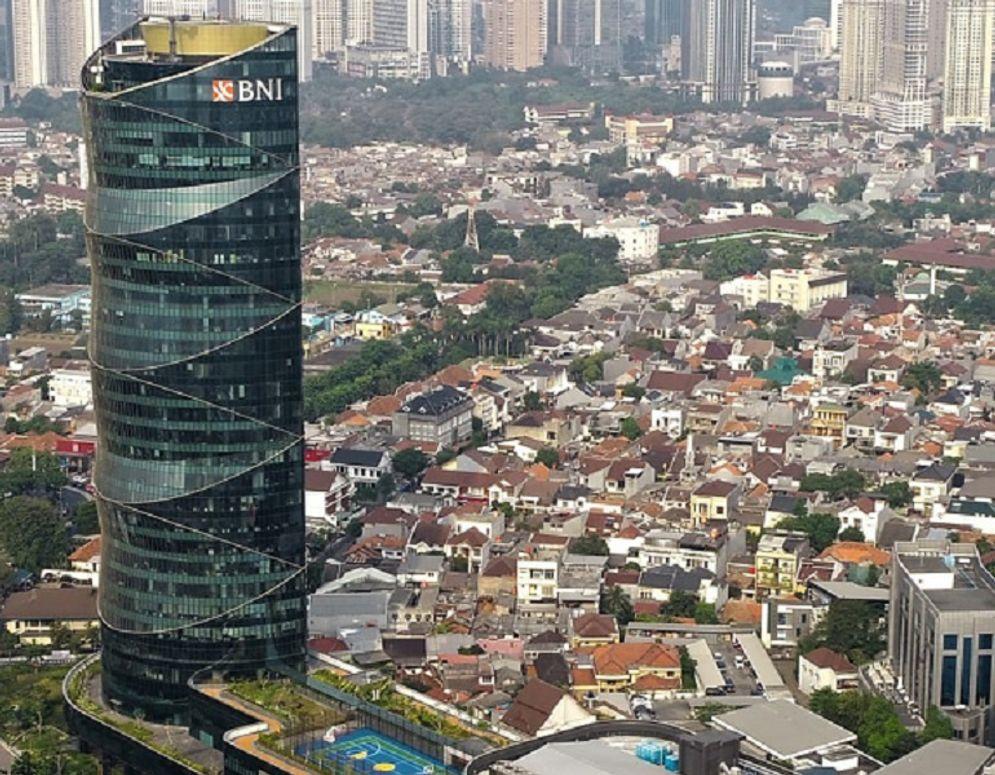 Menara BNI Pejompongan, Jakarta Pusat. / BNI.co.id\n