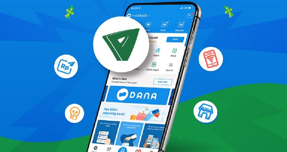 Pembayaran zakat dapat dilakukan melalui dompet digital DANA. / Facebook @DANAwallet\n
