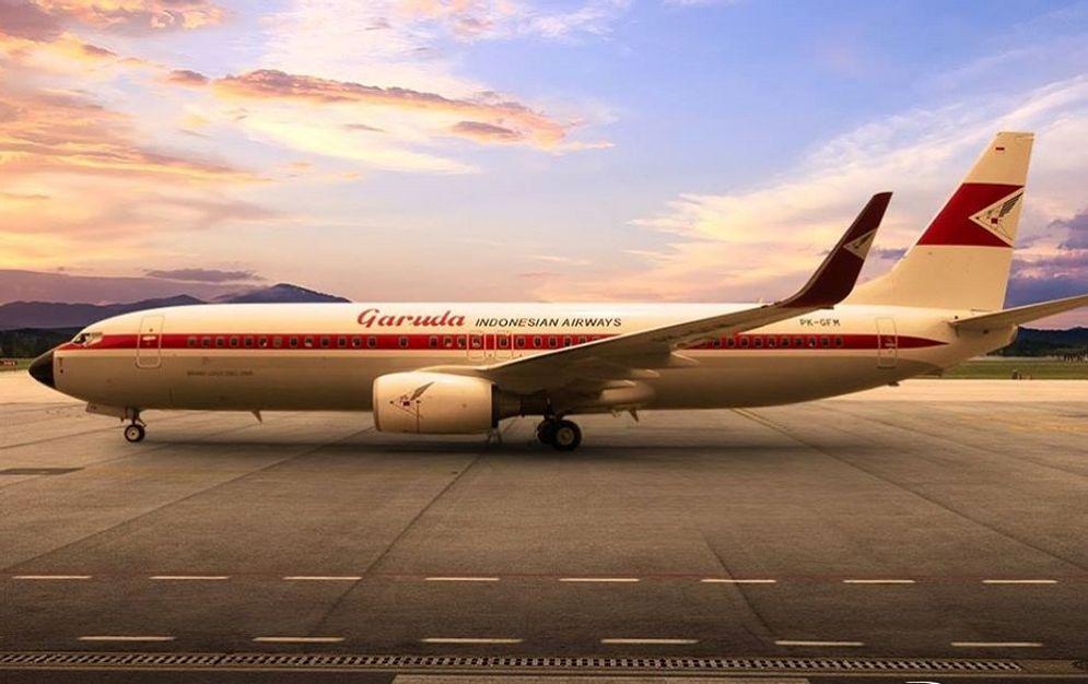Maskapai penerbangan BUMN PT Garuda Indonesia (Persero) Tbk. / Facebook @garudaindonesia\n