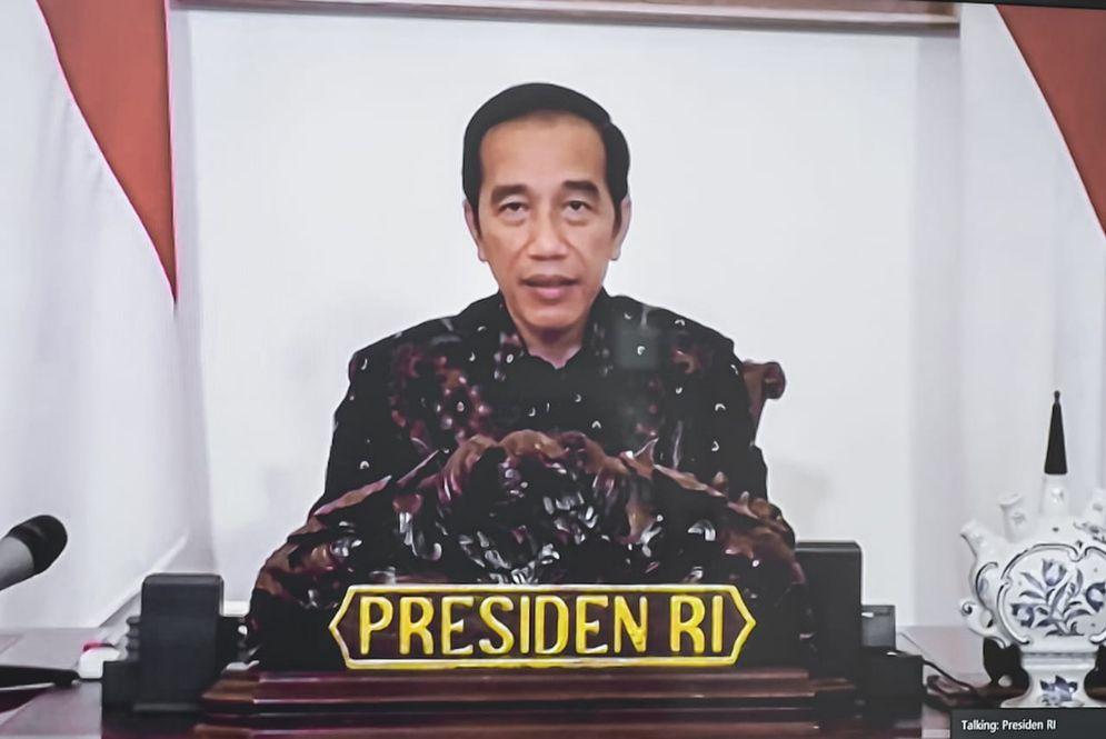 Presiden Joko Widodo dalam Rapat Terbatas, Selasa, 12 Mei 2020. / Dok. Sekertariat Kabinet\n