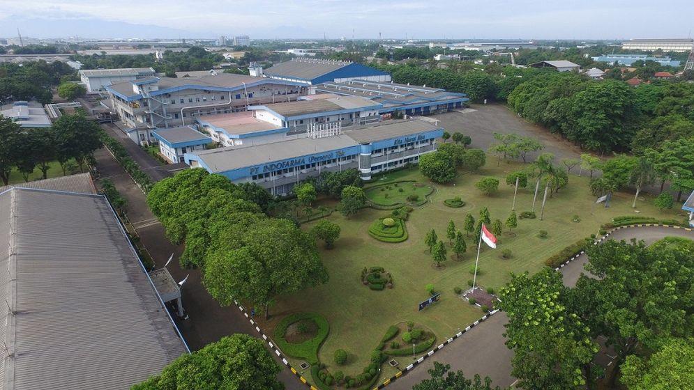 Pabrik milik PT Indofarma (Persero) Tbk. / Indofarma.co.id\n