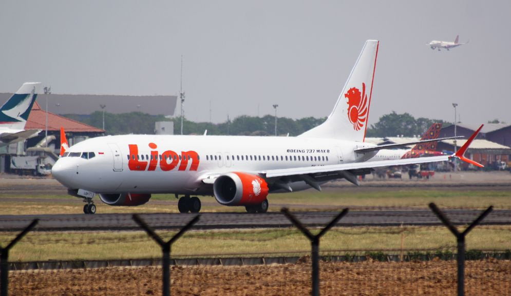 Maskapai penerbangan Lion Air. / Lionair.co.id\n