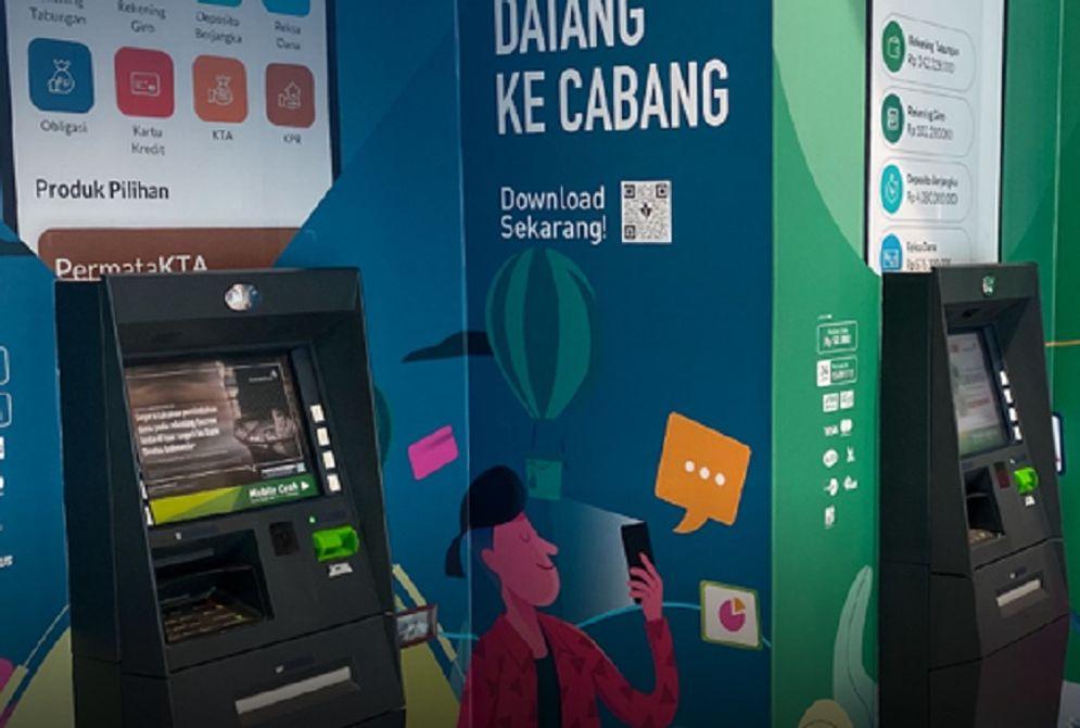 ATM Bank Permata. / Permatabank.com\n
