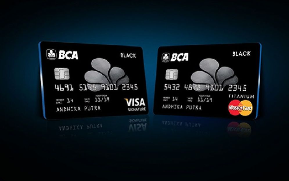 Kartu kredit BCA. / popbela.com\n