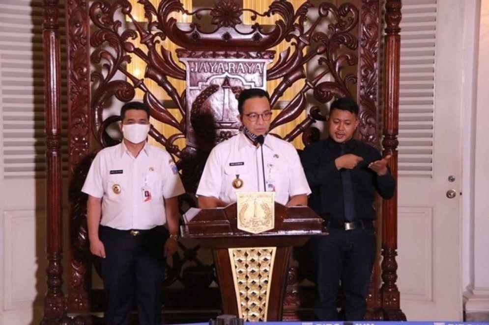 Gubernur DKI Jakarta Anies Baswedan . / Facebook @DKIJakarta\n