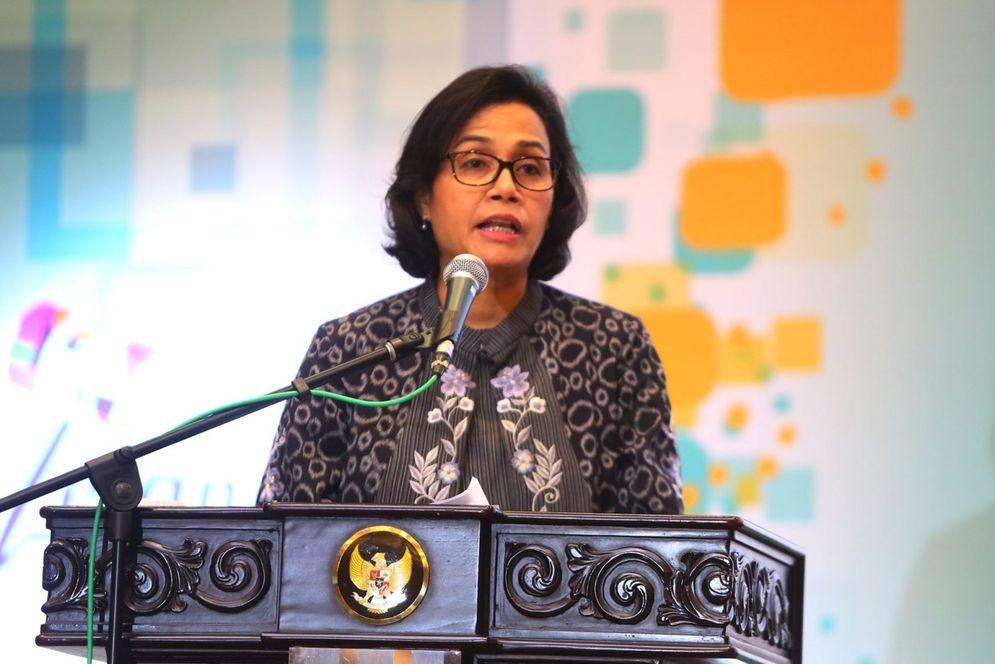 Menteri Keuangan Sri Mulyani . Foto: Ismail Pohan/TrenAsia\n