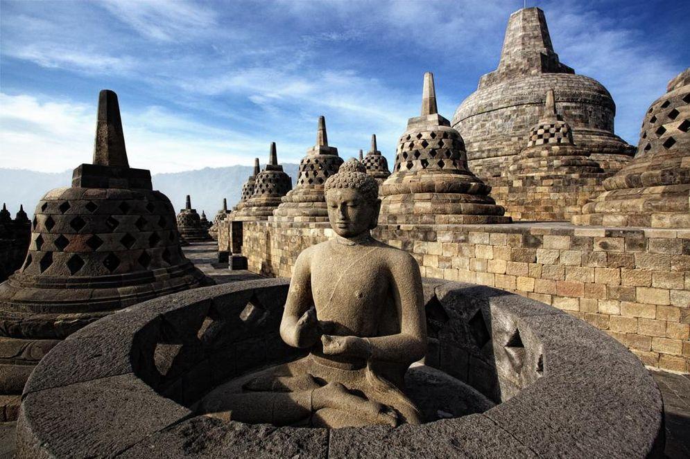 Destinasi wisata Candi Borobudur. / Dok. Kemenparekraf\n