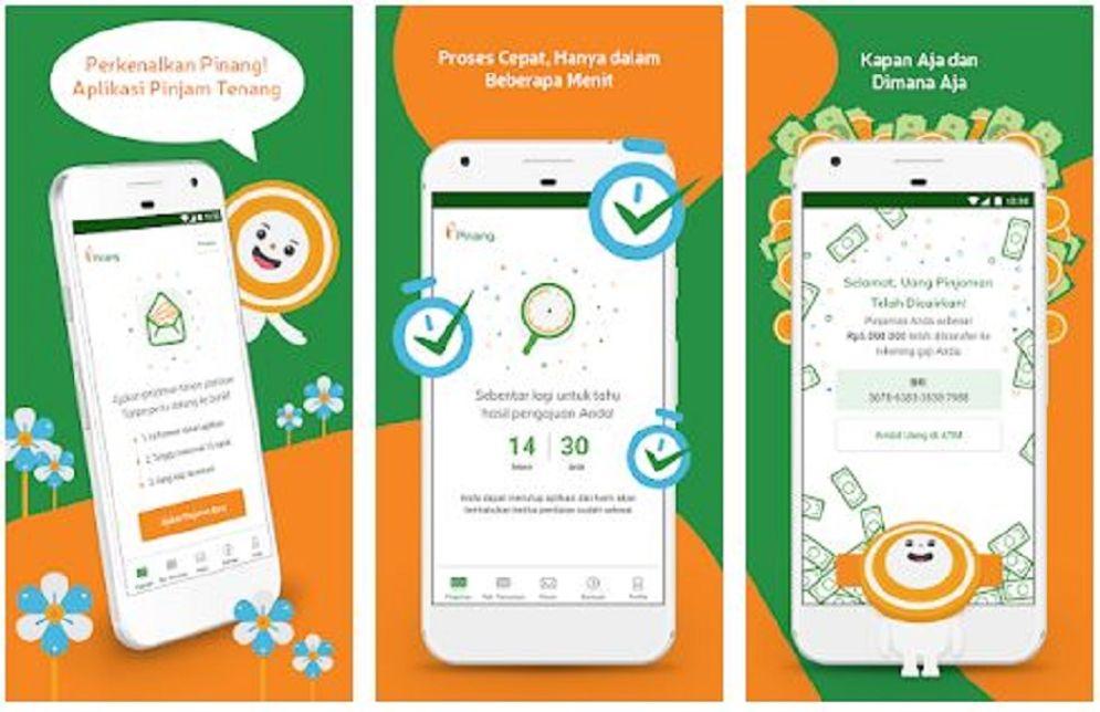 Fintech P2P Lending Pinang milik BRI Agroniaga / Play.google.com\n