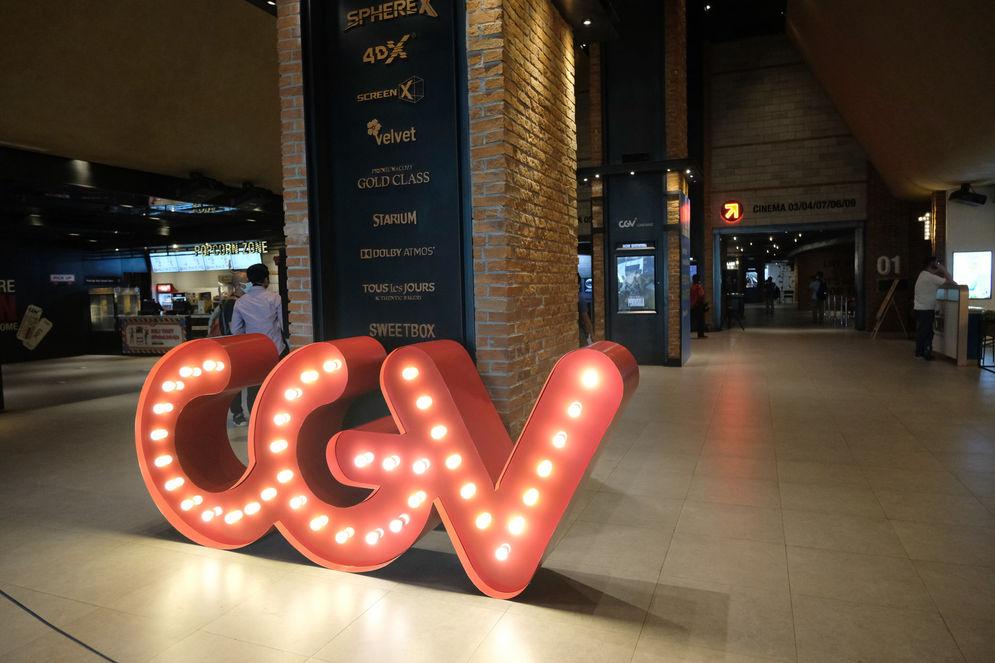 Suasana bioskop CGV di Mal Grand Indonesia, Jakarta, Rabu, 21 Oktober 2020. Foto: Ismail Pohan/TrenAsia\n