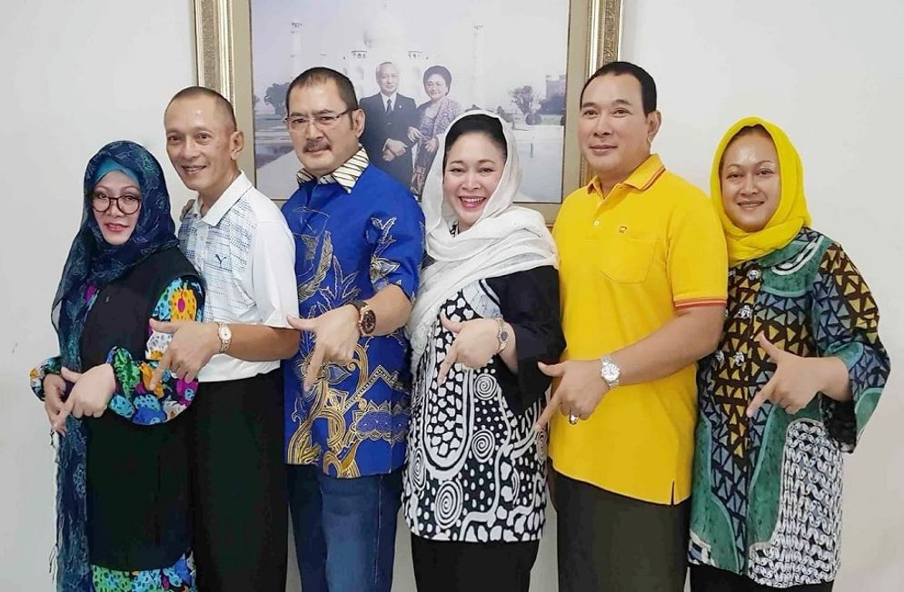 Keluarga Cendana, putra putri Presiden Soeharto / Facebook @badaruddin.picunang\n