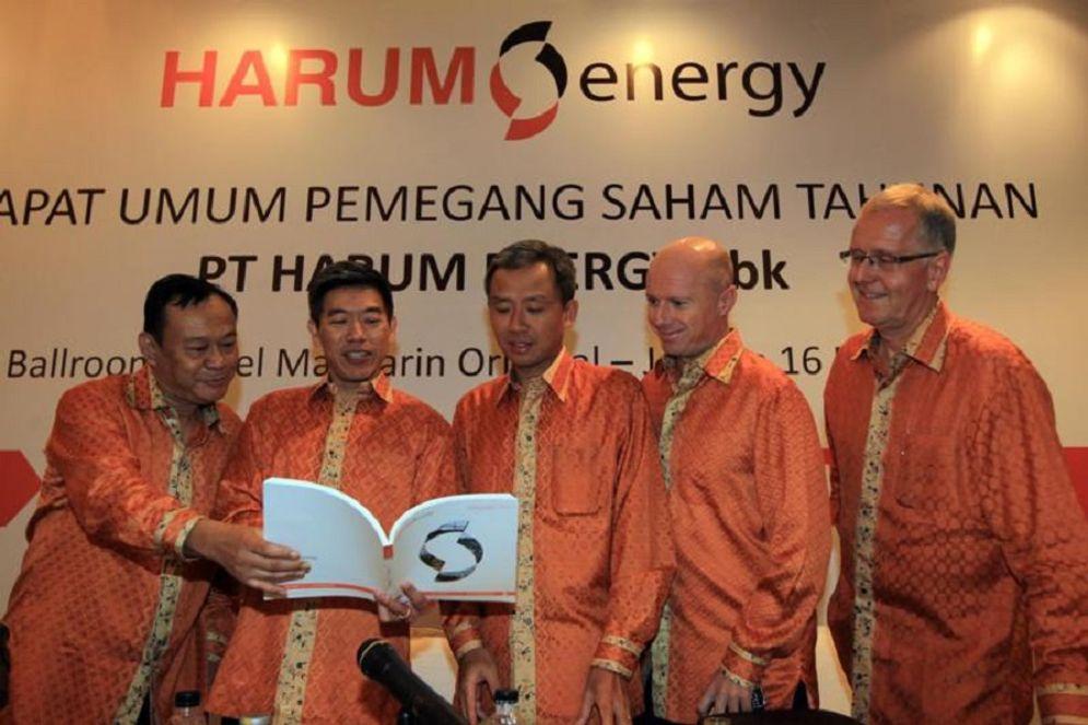 Manajemen emiten pertambangan PT Harum Energy Tbk (HRUM) / Istimewa\n