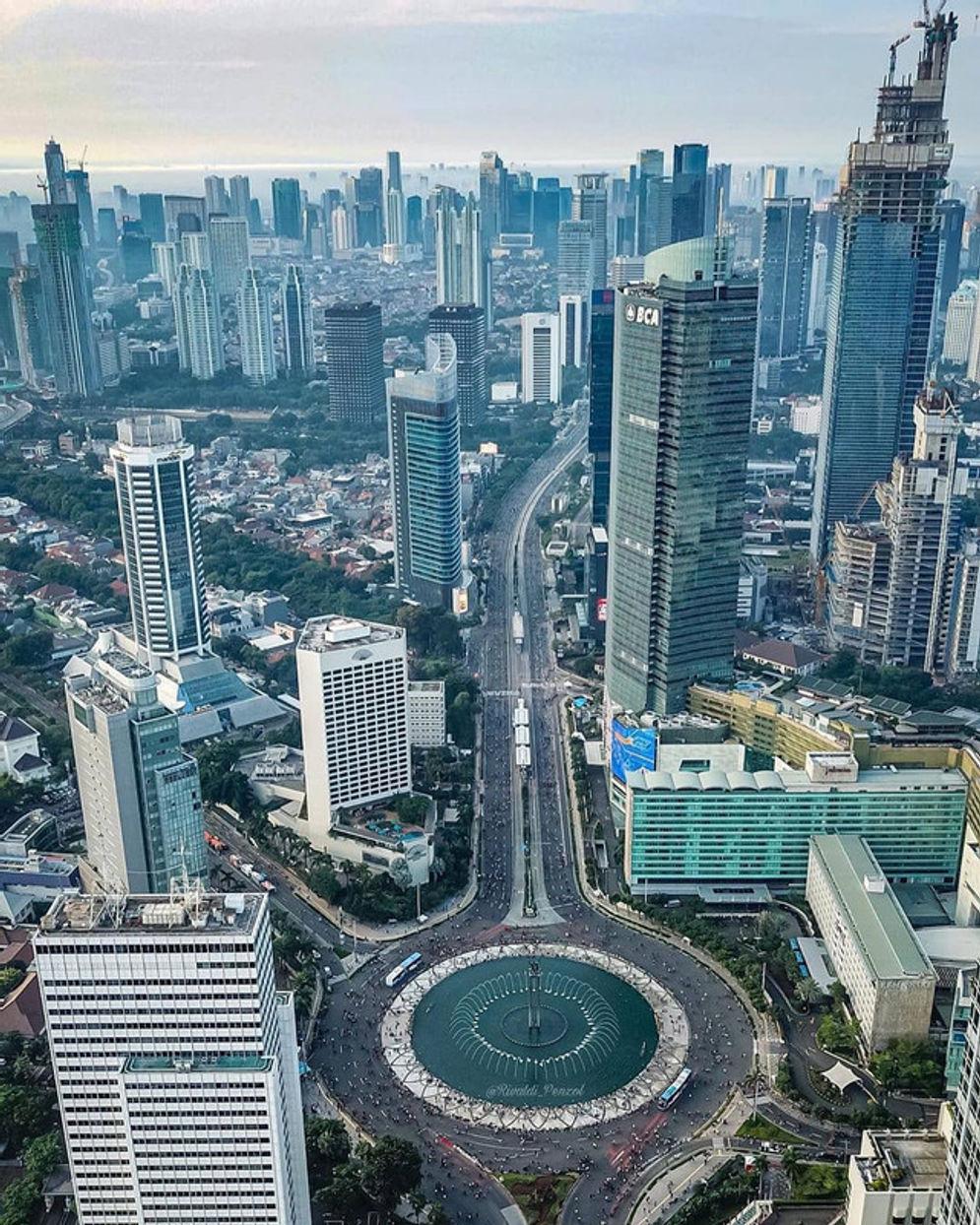 Rekor Tertinggi Di Indonesia Gedung Thamrin Nine Autograph Tower Dibangun Rp8 Triliun Trenasia