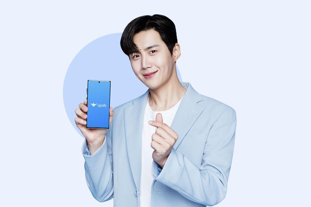 PT Ajaib Sekuritas Asia (Ajaib) menggandeng Kim Seon-Ho, aktor pemeran Han Ji-Pyeong dalam drama Start-Up di Netflix sebagai brand ambassador. / Ajaib\n