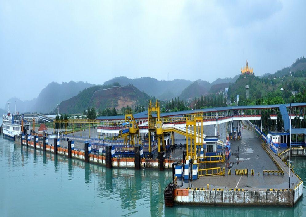 Pelabuhan Bakauheni Lampung milik PT ASDP Indonesia Ferry (Persero) / Dok. Perseroan\n