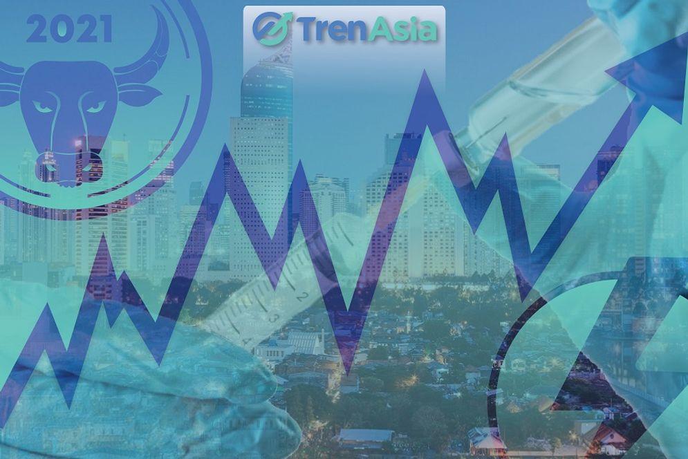 Prospek ekonomi Indonesia 2021. Ilustrasi Grafis: Azka Yusra/TrenAsia\n