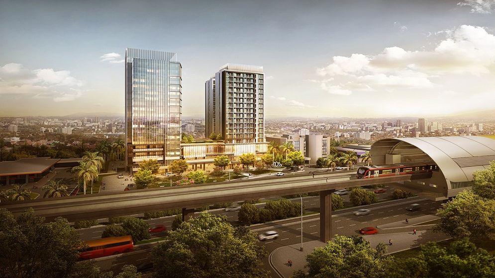 LRT City mengusung konsep Transit Oriented Development (TOD) dari PT Adhi Commuter Properti / LRTCity.com\n