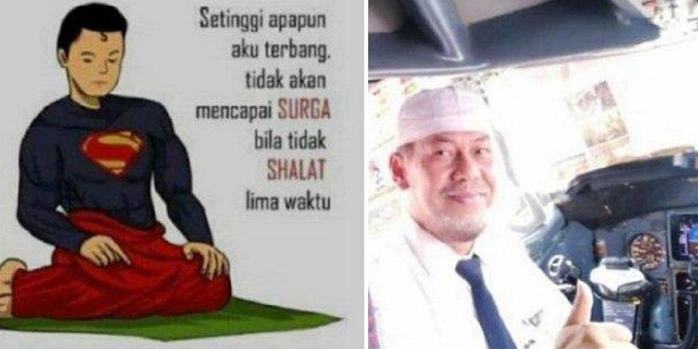 Instagram story Capt Afwan, pilot pesawat Sriwijaya Air SJ-182 yang jatuh di perairan Kepulauan Seribu / Istimewa\n