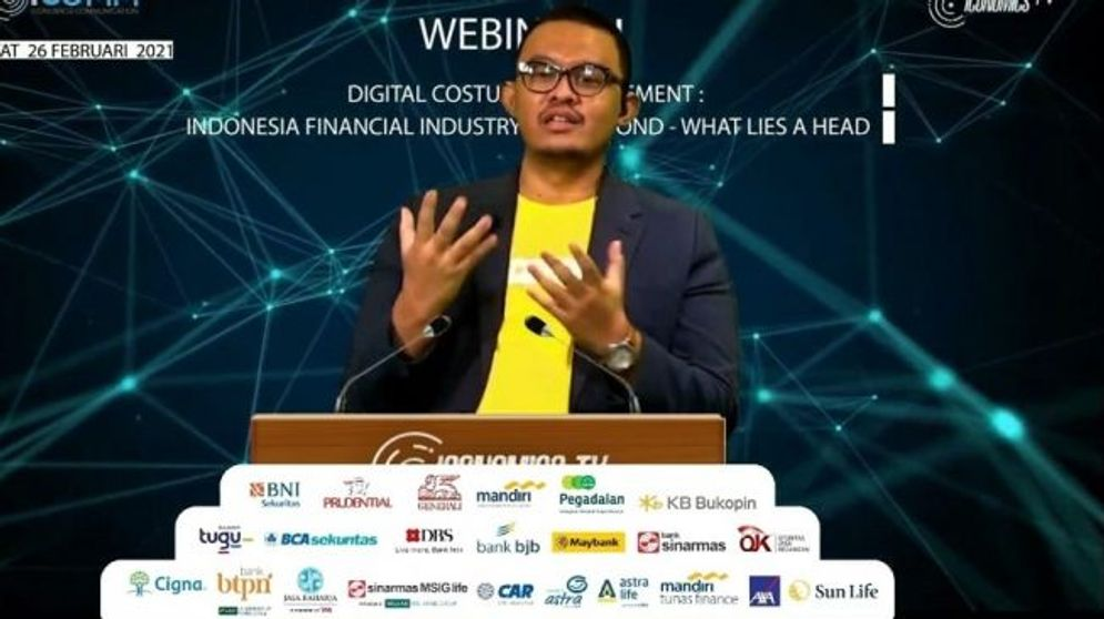 Webinar Indonesia's Most Popular Digital Financial Brands Award. Foto :Millennials' Choice\n