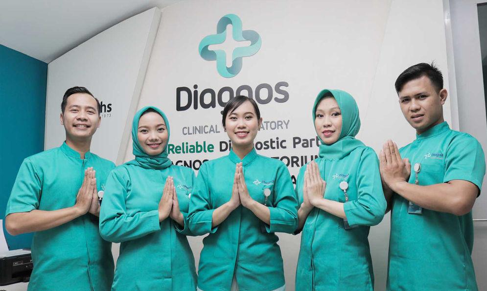 PT. Diagnos Laboratorium Utama Tbk (DGNS) /Dok. Perusahaan\n