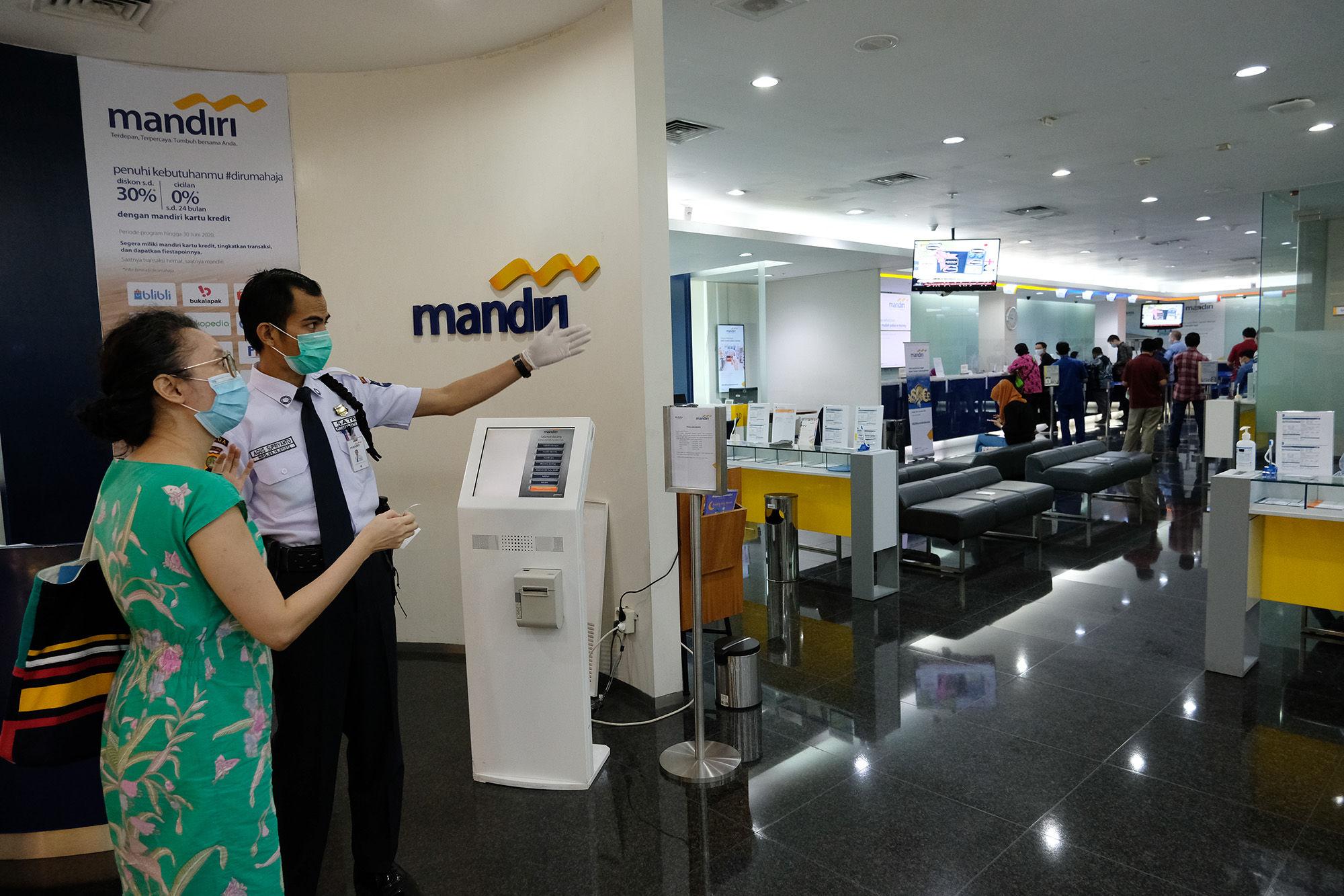 Bayar Obligasi, Bank Mandiri Siapkan Dana Rp1,1 Triliun