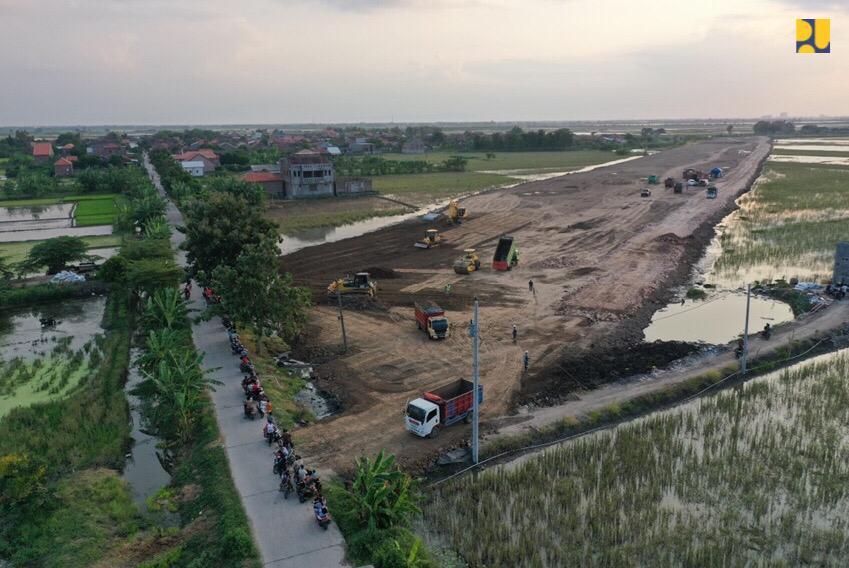 Kementerian PUPR Lanjutkan Pembangunan Jalan Pintas Mengwitani-Singaraja Senilai Rp968,26 Miliar
