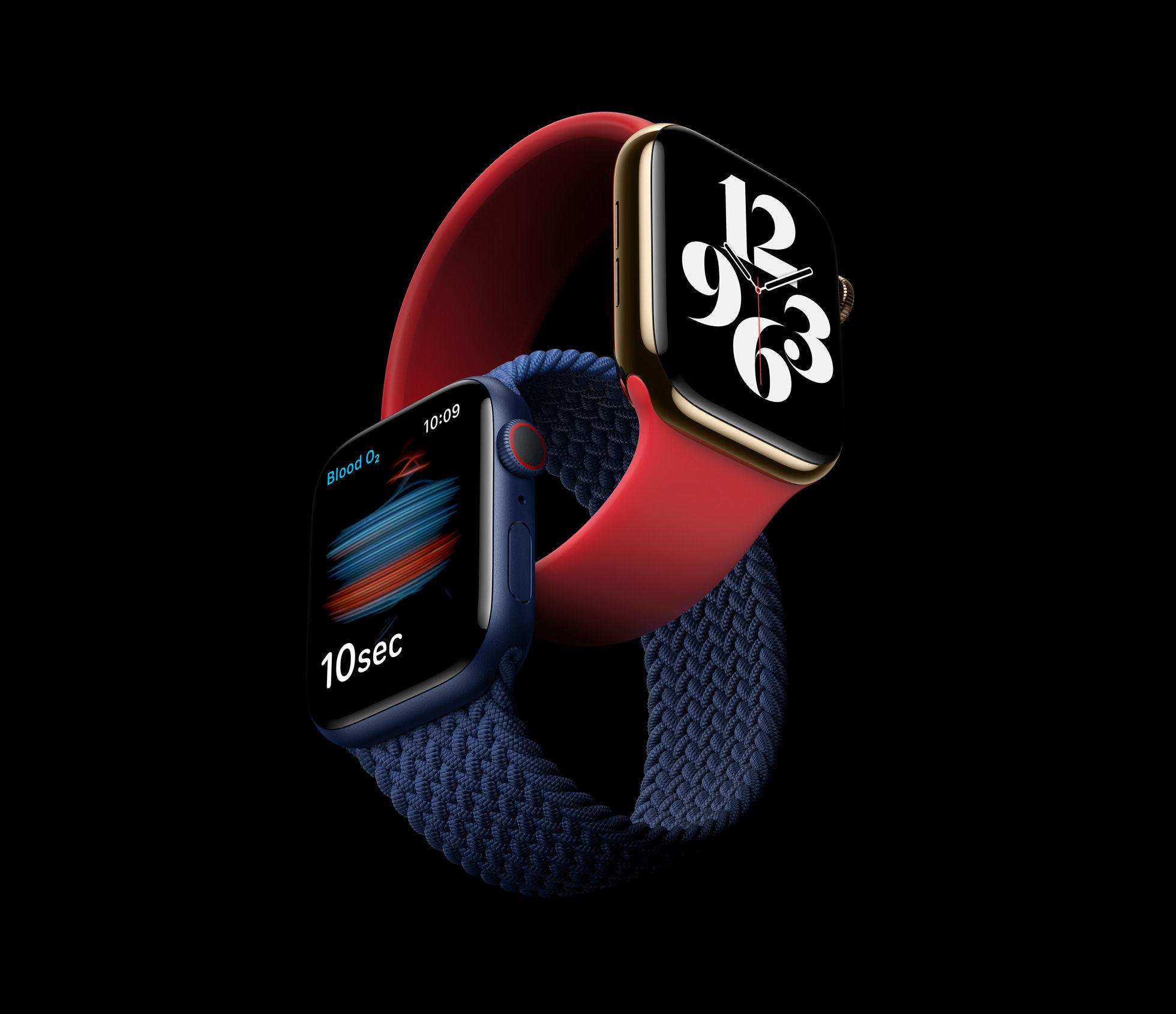 Canggih, Apple Watch Seri 6 Bisa Mengukur Oksigen Dalam Darah