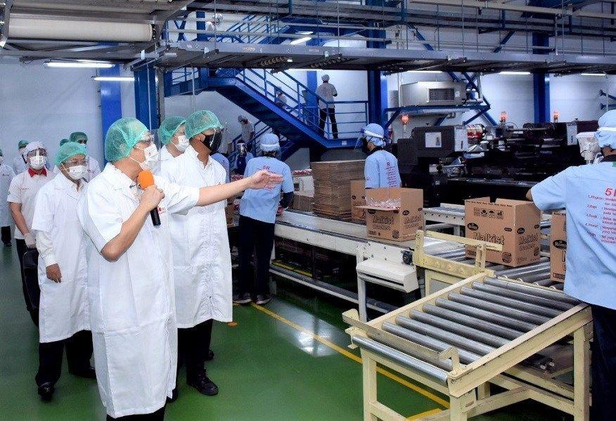 Ekspor Industri Manufaktur Naik 33,4 Persen Jadi Rp1.167 Triliun